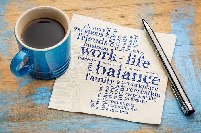 work life balance coffee